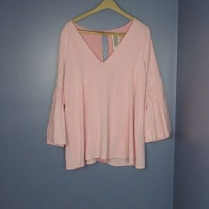 Free People Romper Pink Small